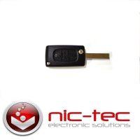 Peugeot nøgle - bestil ny nøgle til Peugeot online hos Nic-Tec