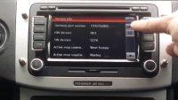 Bilradio reset oplåsning etc